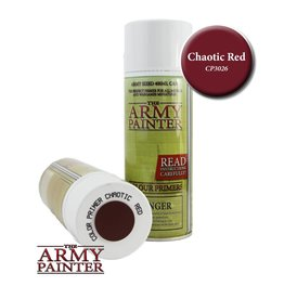 The Army Painter Colour Primer - Chaotic Red