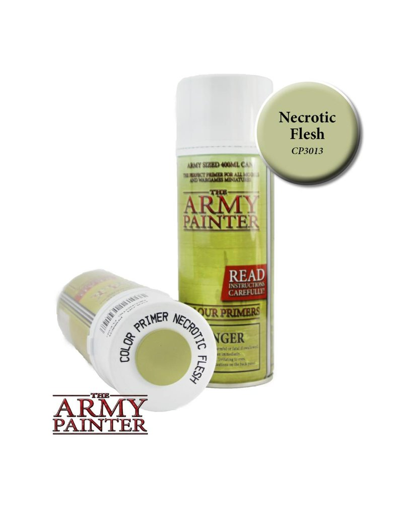 The Army Painter Colour Primer - Necrotic Flesh – 400ml