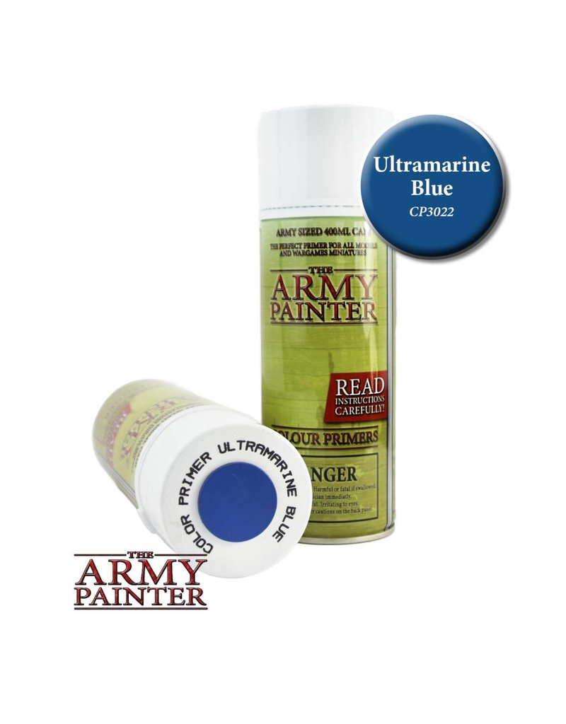 The Army Painter Colour Primer - Ultramarine Blue – 400ml