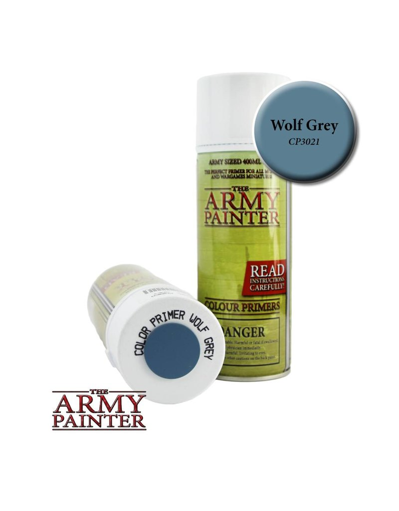 The Army Painter Colour Primer - Wolf Grey – 400ml