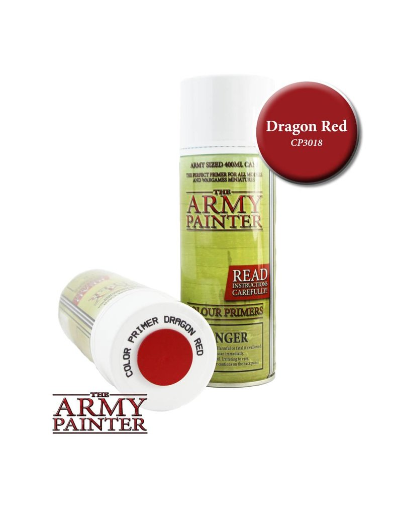 The Army Painter Colour Primer - Dragon Red – 400ml