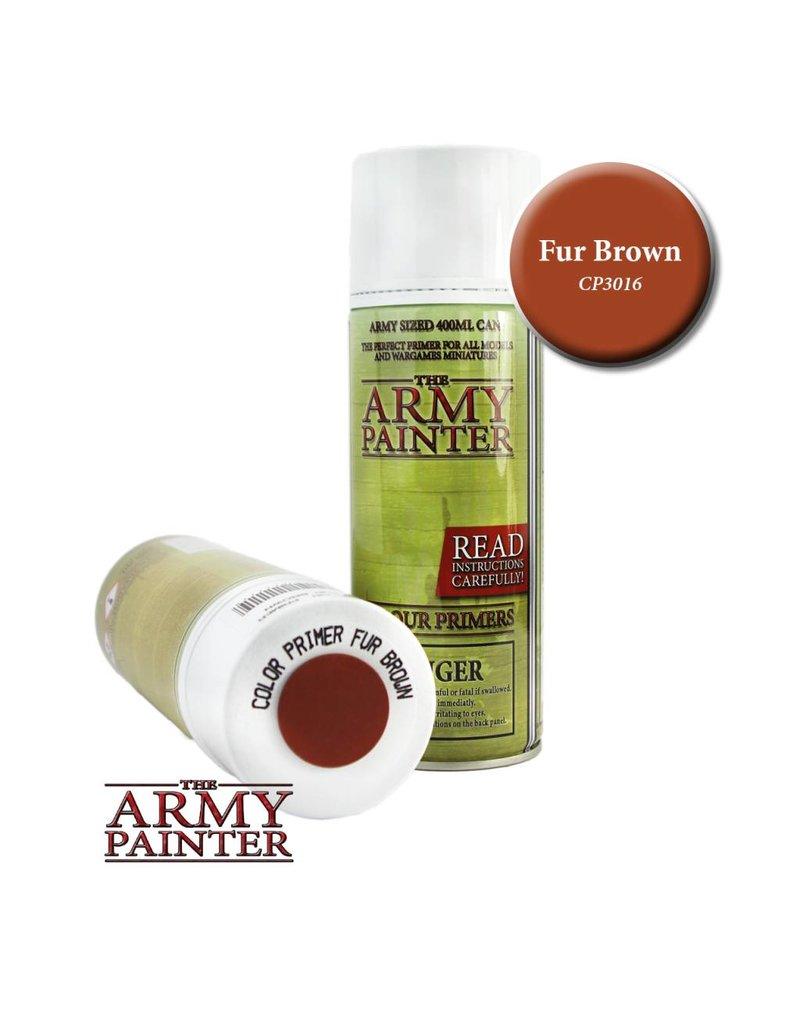 The Army Painter Colour Primer - Fur Brown – 400ml