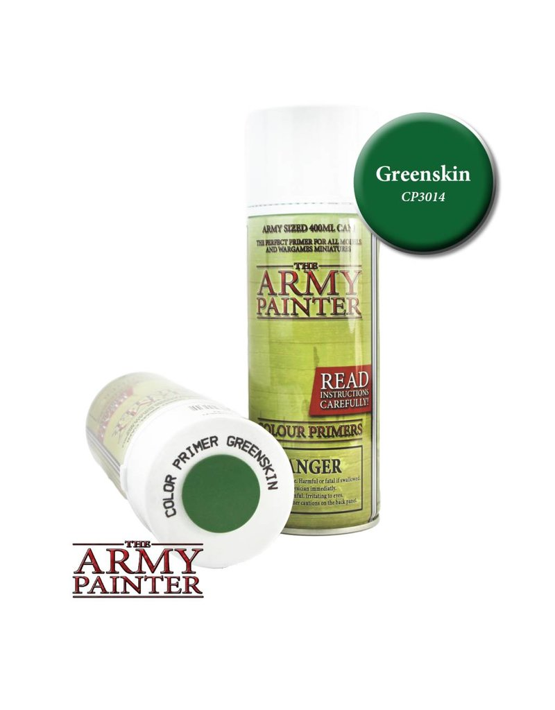 The Army Painter Colour Primer – Greenskin – 400ml