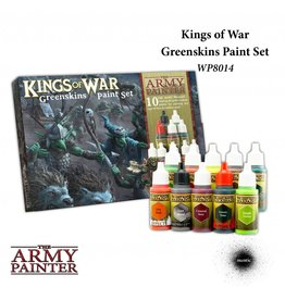 The Army Painter Kings Of War Greenskins Paint Set