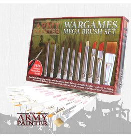 The Army Painter Mega Brush Set