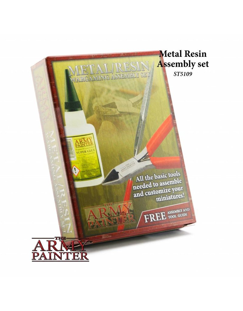 The Army Painter Starter Set - Metal Resin Assembly Set