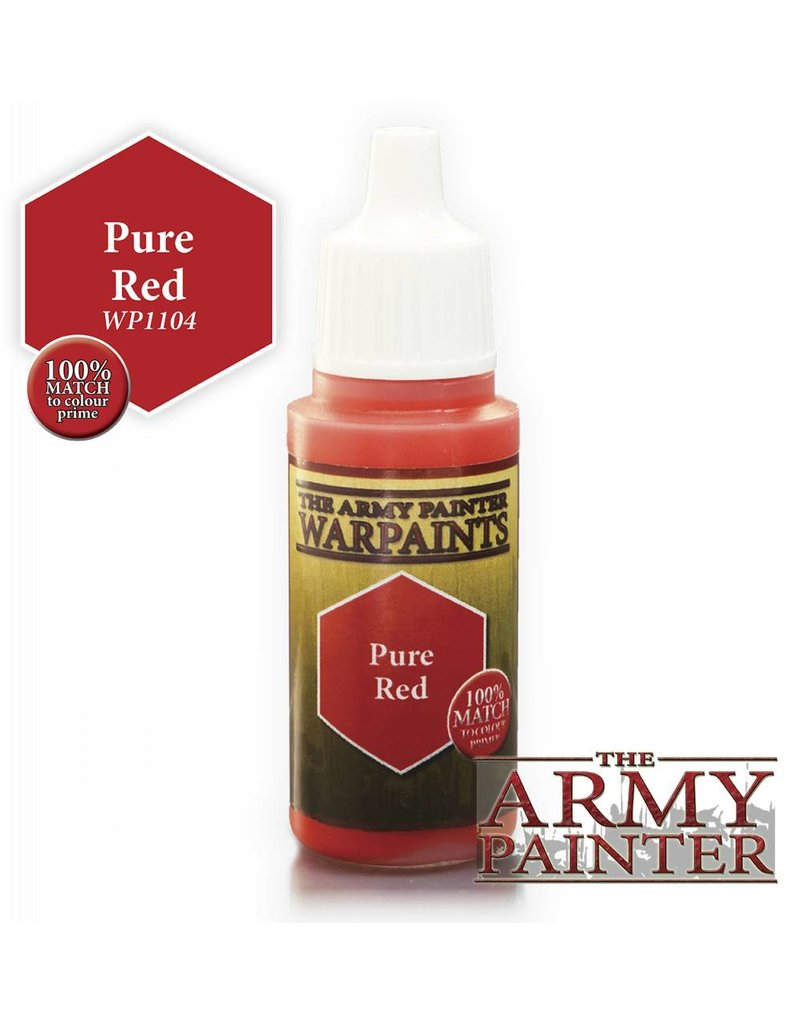The Army Painter Warpaint - Pure Red - 18ml