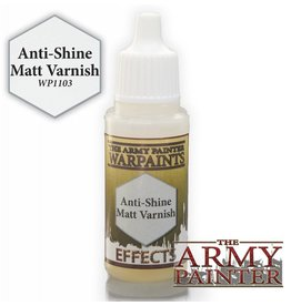 The Army Painter Anti-Shine Matt Varnish