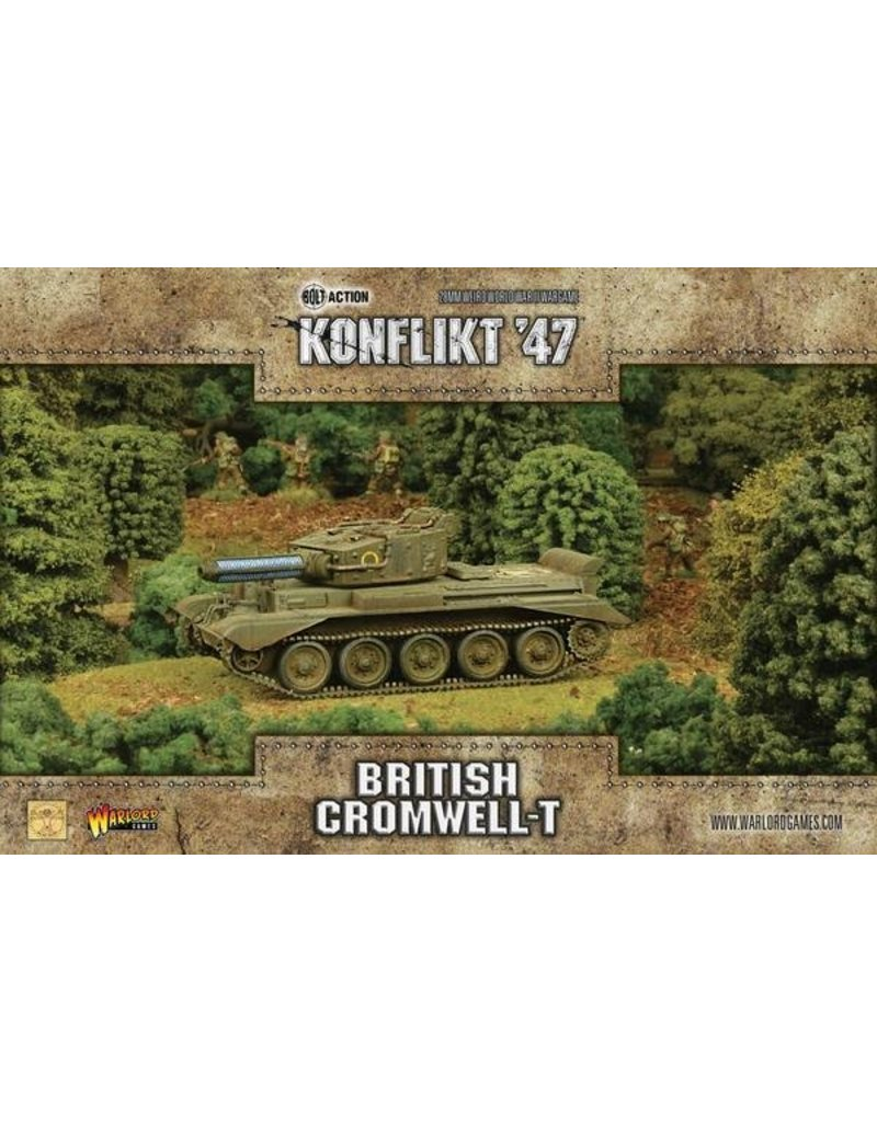 Warlord Games British Cromwell with Tesla Cannon