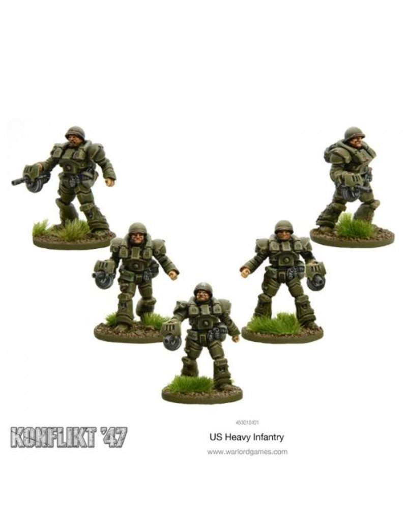 Warlord Games US Army Heavy Infantry