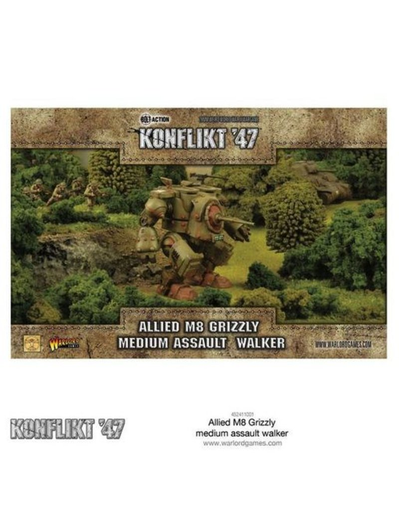 Warlord Games US Army Grizzly Medium Walker