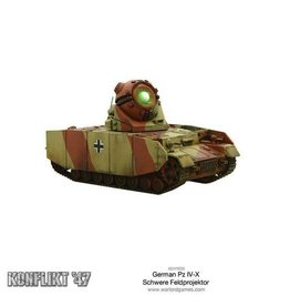 Warlord Games Panzer IV-X