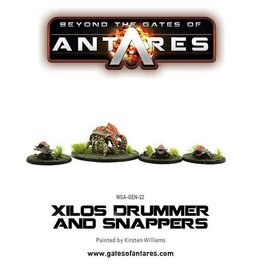 Warlord Games Xilos Snapper and Drummer