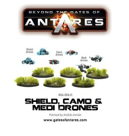 Warlord Games Shield, Camo & Medi-Drones