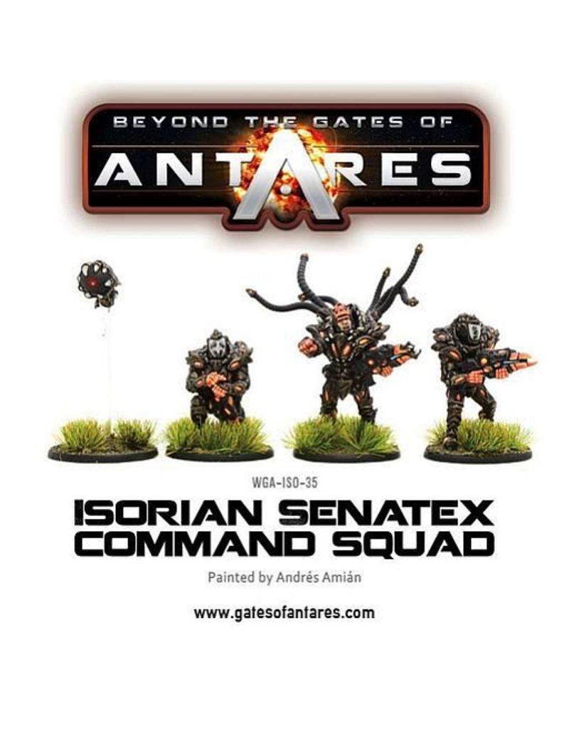 Warlord Games Isorian Senatex command squad