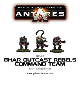 Warlord Games Outcast Rebel Command Team