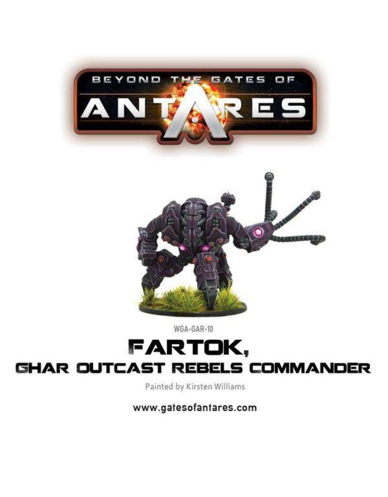 Warlord Games Ghar Outcasts Fartok, Rebel Commander