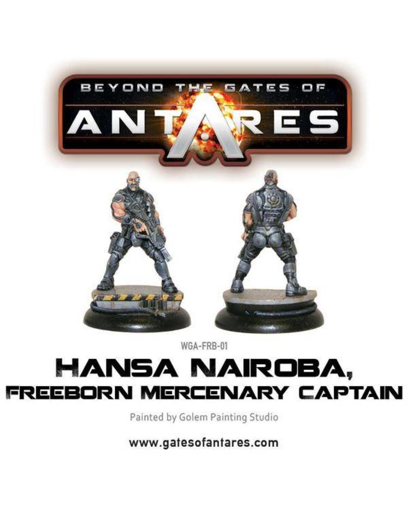 Warlord Games Freeborn Hansa Nairoba & Bovan Tuk, Mercenary Captains