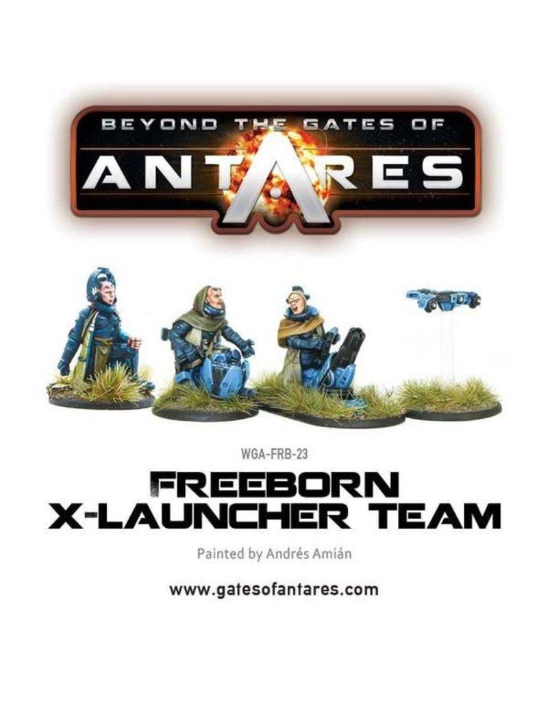 Warlord Games Freeborn X launcher Team