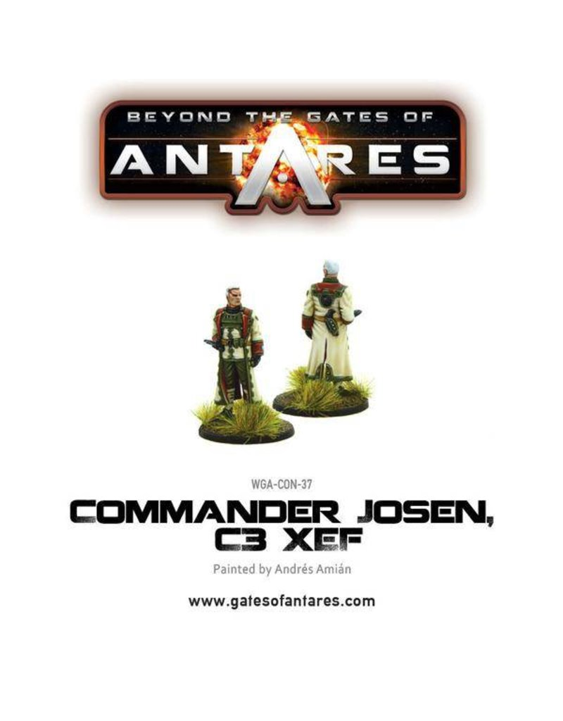 Warlord Games Concord Commander Josen, C3 XEF