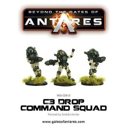Warlord Games C3 Drop Command Squad