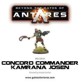 Warlord Games Commander Kamrana Josen