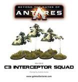 Warlord Games Concord Intercept Squad (3 Bikes)