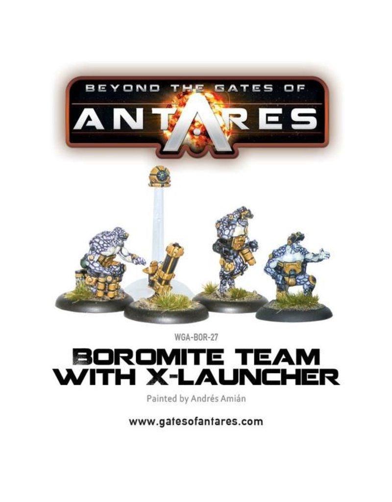 Warlord Games Boromite X-Launcher & Team