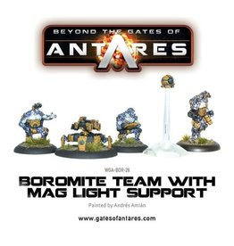 Warlord Games Team with Mag Light Support