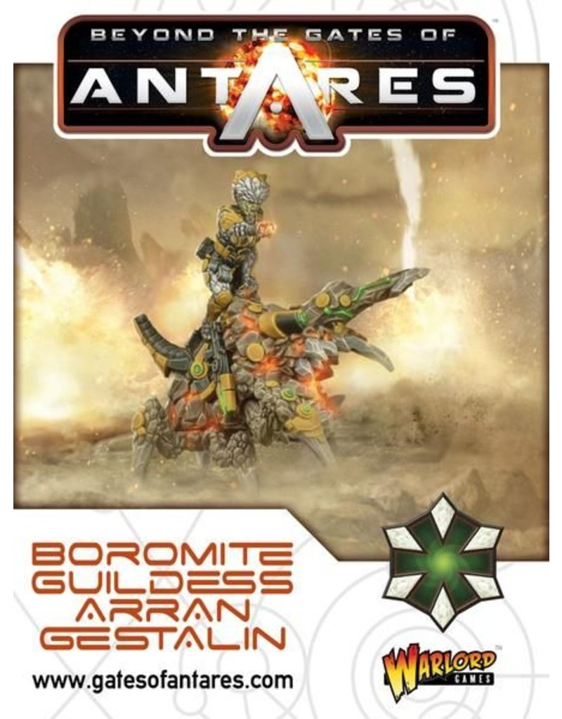 Warlord Games Boromite Guildess Arran Gestalin