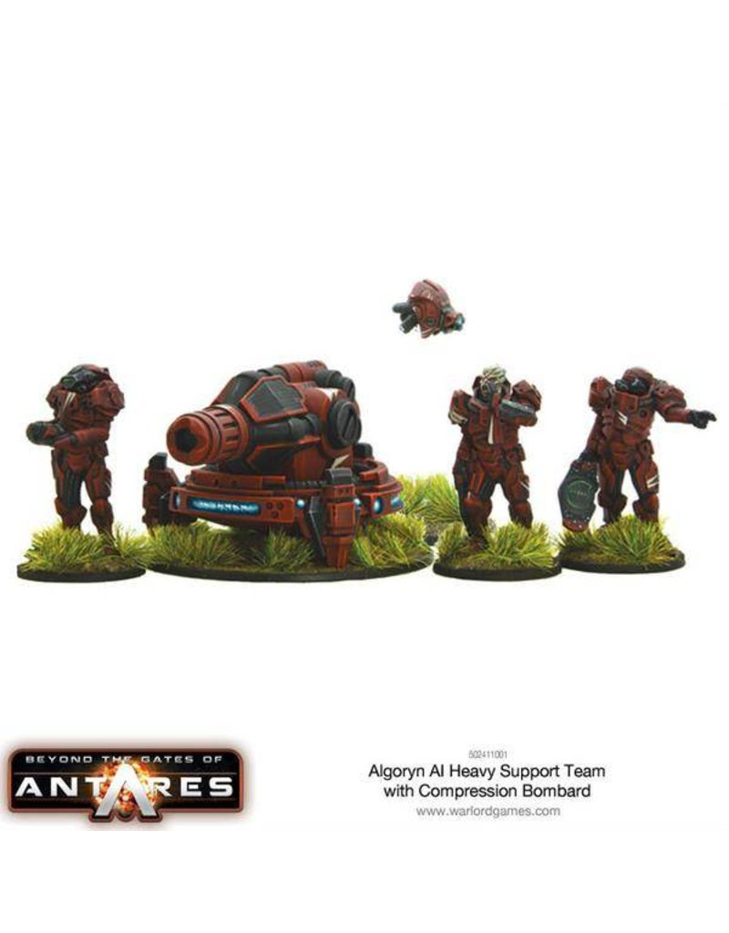 Warlord Games Algoryn AI Heavy Support Team with Compression Bombard