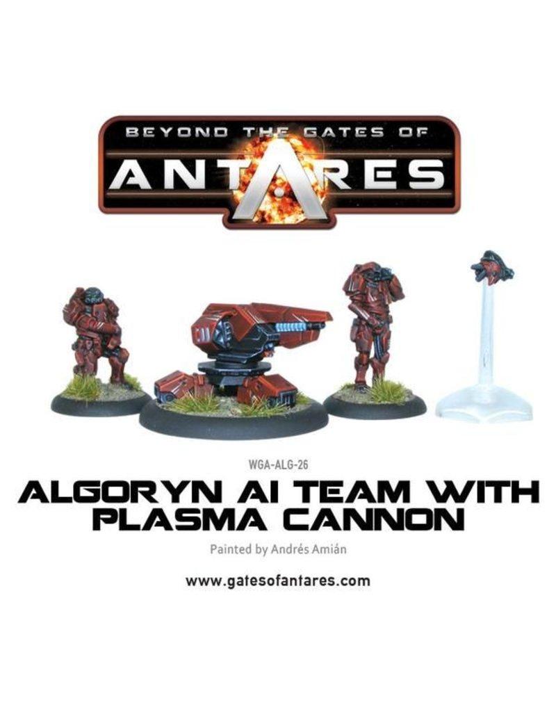 Warlord Games Algoryn AI Team With Plasma Cannon