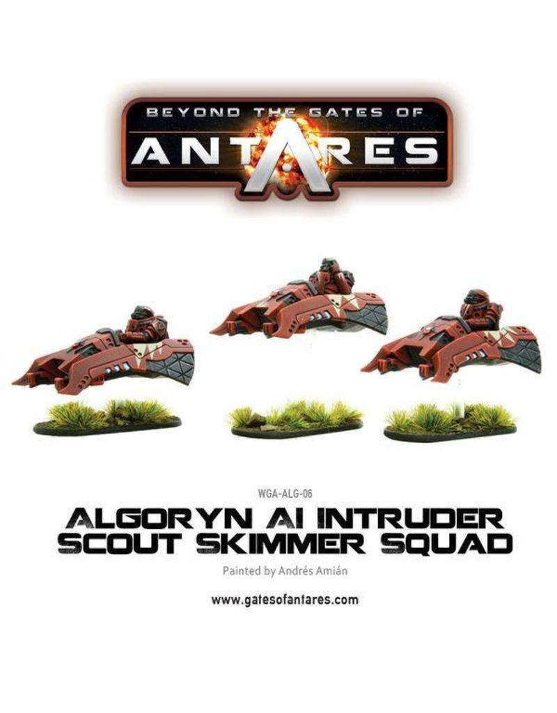 Warlord Games Algoryn AI Intruder scout skimmer squad