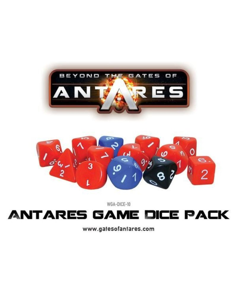 Warlord Games Gates Of Antares Game Dice Pack