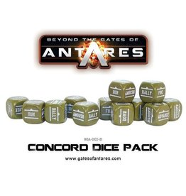 Warlord Games Concord Dice Pack
