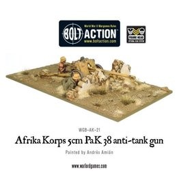 Warlord Games Afrika Korps 5cm PaK 38 anti-tank gun