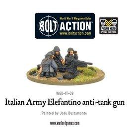 Warlord Games Italian 47mm Elefantino anti-tank gun