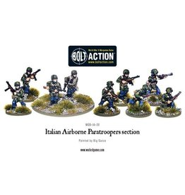 Warlord Games Italian Airborne Paratroopers section