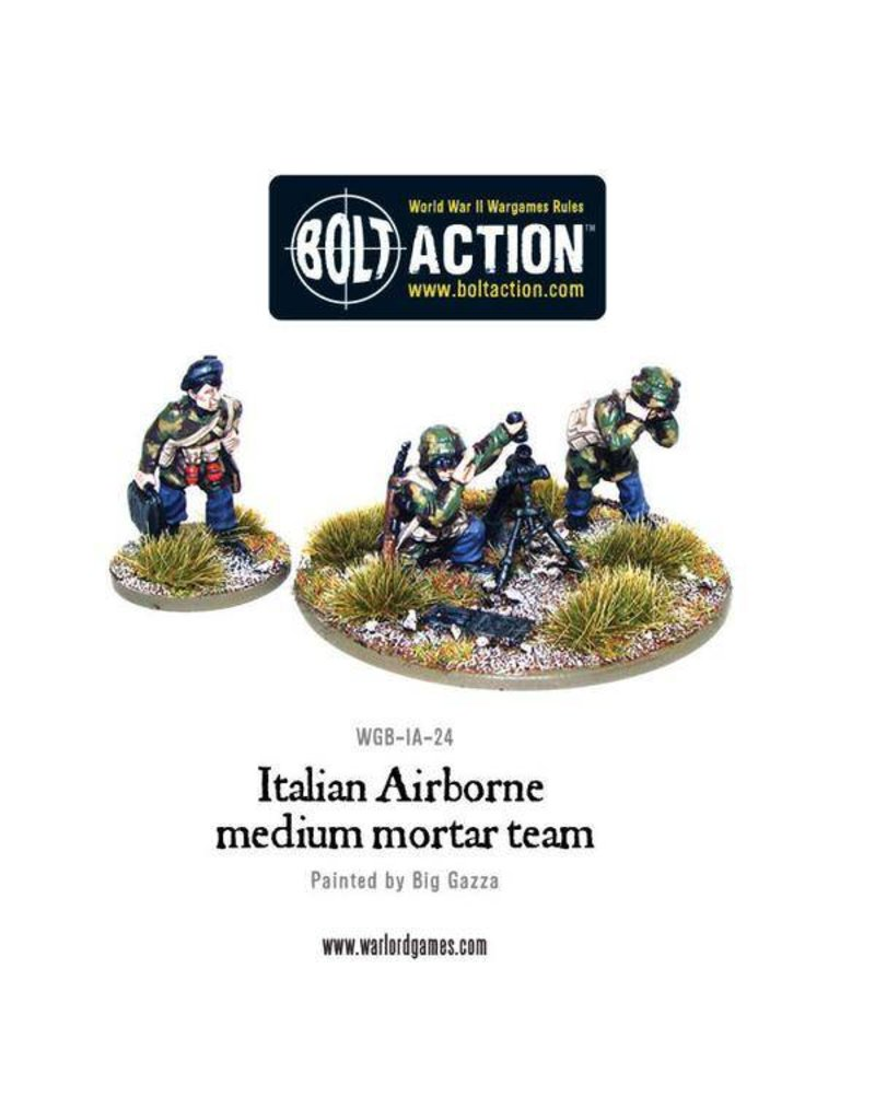 Warlord Games Italian Airborne medium mortar team
