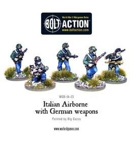 Warlord Games Italian Airborne with German weapons