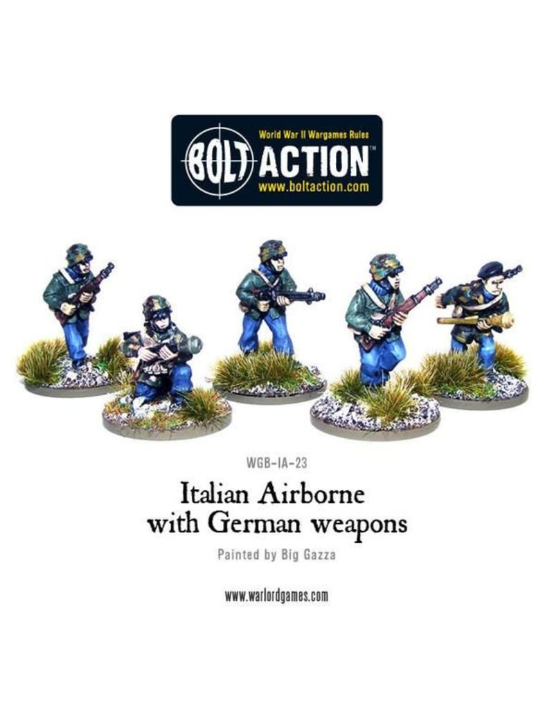 Warlord Games Italian Army Airborne with German weapons