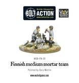 Warlord Games Finnish medium mortar team