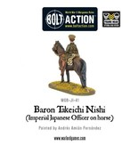 Warlord Games Imperial Japanese Baron Nishi (Imperial Japanese officer on horse)