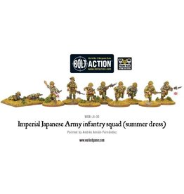 Warlord Games Japanese Army infantry squad (summer dress)