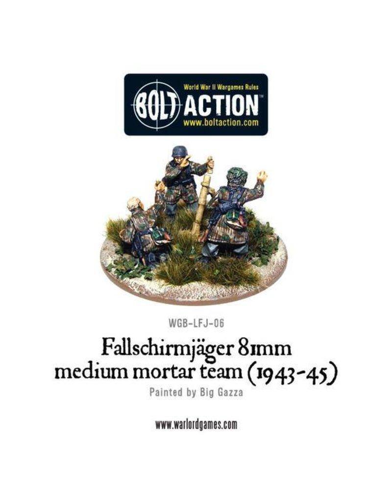 Warlord Games Fallschirmjager 81 Medium Mortar team
