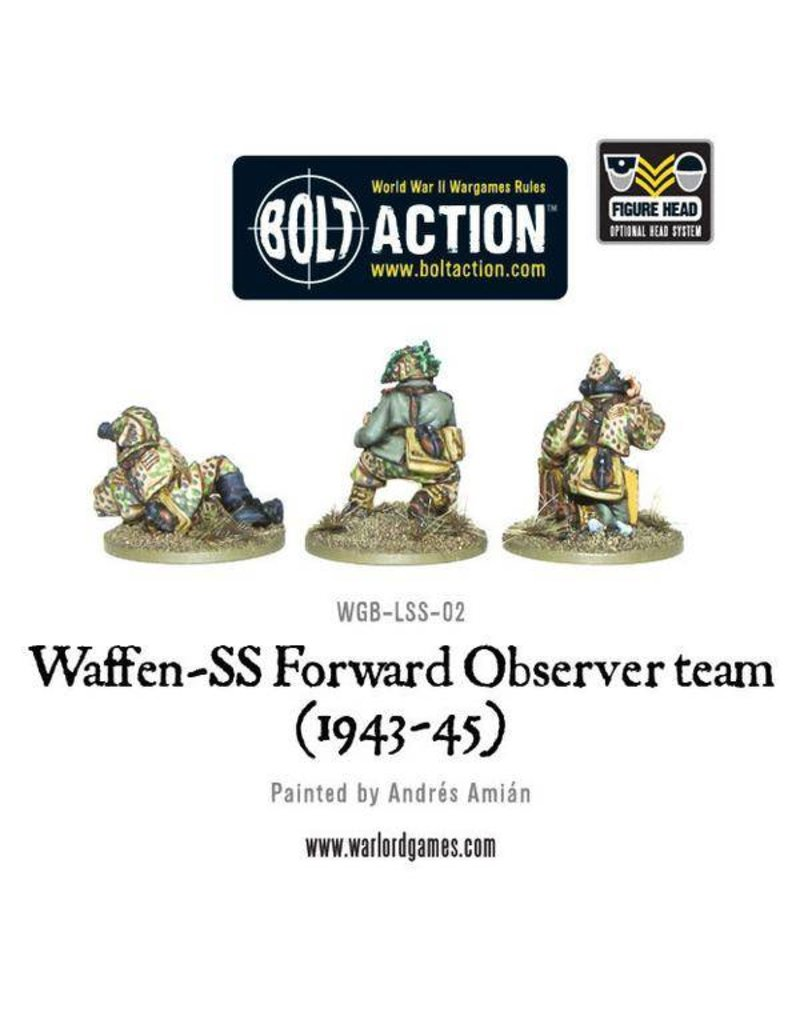 Warlord Games German Waffen-SS Forward Observer Team