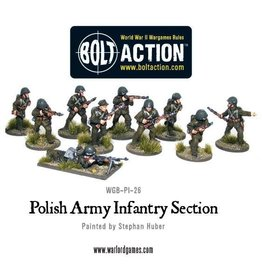 Warlord Games Polish Infantry Section