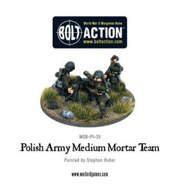 Warlord Games Polish Medium Mortar Team