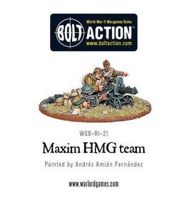 Warlord Games Maxim HMG Crew