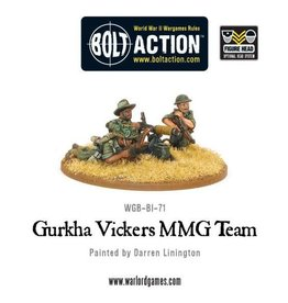 Warlord Games Gurkha Vickers MMG Team